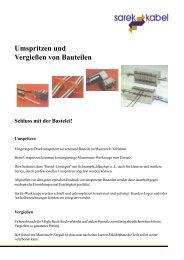 Umspritzen und Vergießen von Bauteilen Was ist Macromelt