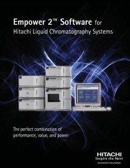 Empower 2™ Software for - Hitachi High Technologies America, Inc
