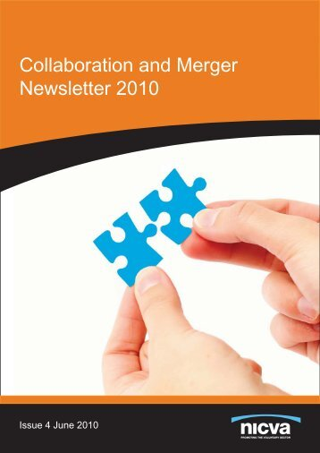 Collaboration and Merger Newsletter 2010 - Nicva