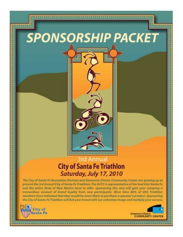 Sponsorship Packet PDF - New Mexico Sports Online