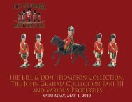 The Bill & Don Thompson Colle CT - Old Toy Soldier Auctions