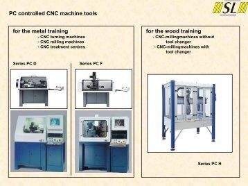 PC Controlled CNC MachineTools - techno volt