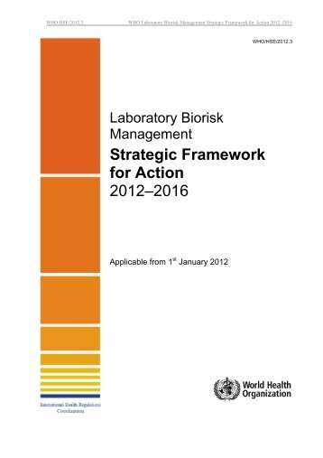 Laboratory Biorisk Management Strategic ... - libdoc.who.int