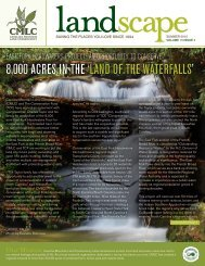 2010 Summer Newsletter - Carolina Mountain Land Conservancy