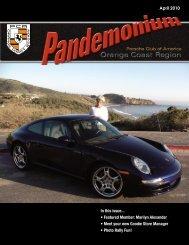 In this issue... • Featured Member - PCA - Orange Coast Region