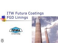 Engineered Coatings - Polyesters / Vinyl Esters Overview