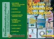 Elettrodomestico ecologico - Provincia di Bologna