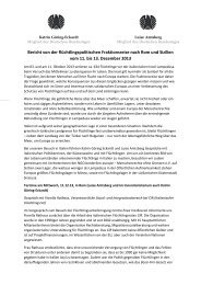 Bericht von der flüchtlingspolitischen Fraktionsreise der Grünen ...
