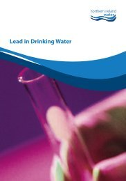 Lead in Drinking Water - Northern Ireland Water