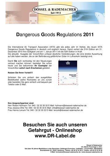 IATA Flyer 2011