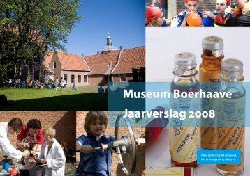 Jaarverslag 2008 - Museum Boerhaave
