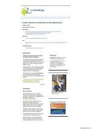 CH-Newsletter 1-2009 - MyHandicap