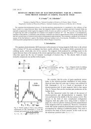 RESONANT PRODUCTION OF ELECTRON-POSITRON PAIR BY A ...