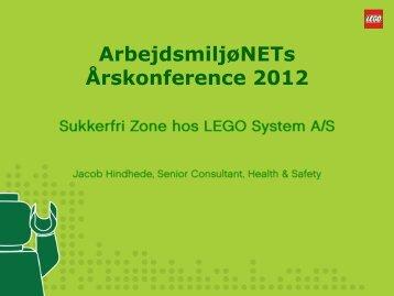 Sukkerfri Zone hos LEGO System A/S - Arbejdsmiljønet