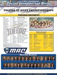 Full Release in PDF Format - University of Toledo Athletics