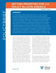 Policy-Brief - Woodrow Wilson International Center for Scholars