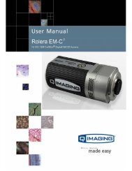 Rolera EM-C 2 User Manual - QImaging