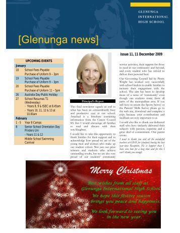 Newsletter Issue 11