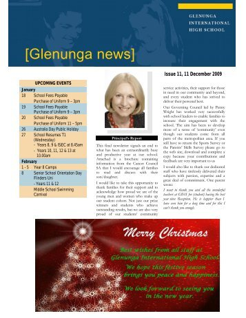 Newsletter Issue 11