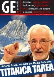 V Cumbre: ¿Más que palabras? Huallamarca ... - Generaccion.com