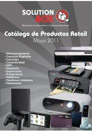 • Almacenamiento • Camaras Digitales • Consolas ... - Solution Box