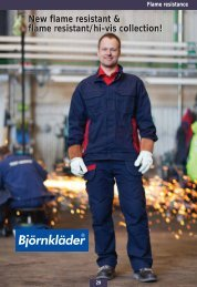 New flame resistant & flame resistant/hi-vis collection! - Björnkläder