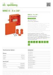 WKE 4 - 5 x 16² - Kabelabzweigkasten (86050401) - Spelsberg