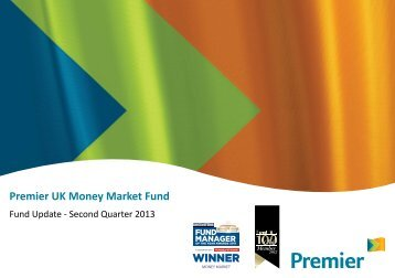 Premier UK Money Market Fund – September 2012 - Premier Asset ...