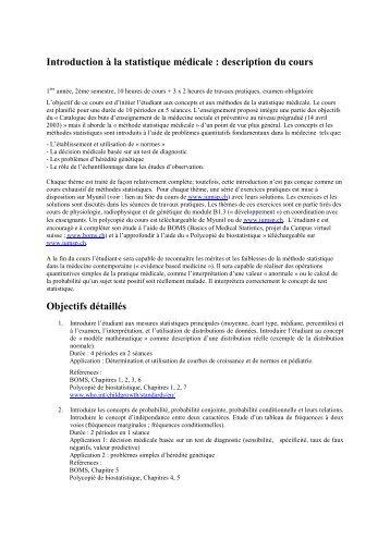 cours de test statistique parametrique pdf