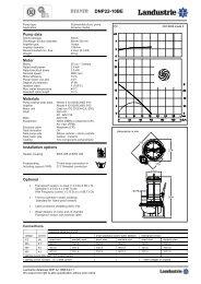 Datasheets DNP22 series 50 c/s - Landustrie