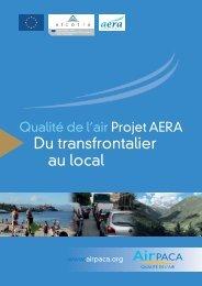 Projet AERA - Atmo Paca
