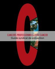 CANCERS PROFESSIONNELS/ZERO CANCER