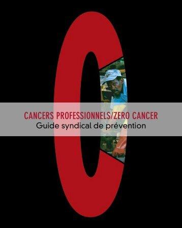 CANCERS PROFESSIONNELS/ZERO CANCER