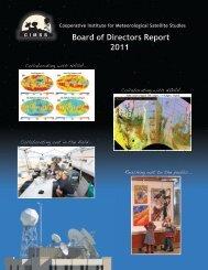 CIMSS Board of Directors Report 24 June 2011 - Cooperative ...
