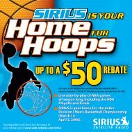 SIRIUS is your - Web-Rebates.com