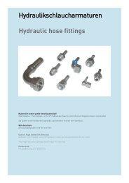 Hydraulic hose fittings - Schmitter Hydraulik GmbH