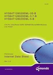 214-Pin Unbuffered DDR2 SDRAM MicroDIMM Modules ... - UBiio
