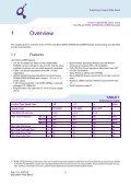 214-Pin Unbuffered DDR2 SDRAM MicroDIMM Modules ... - UBiio - Page 3
