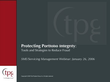 Protecting Portfolio Integrity: