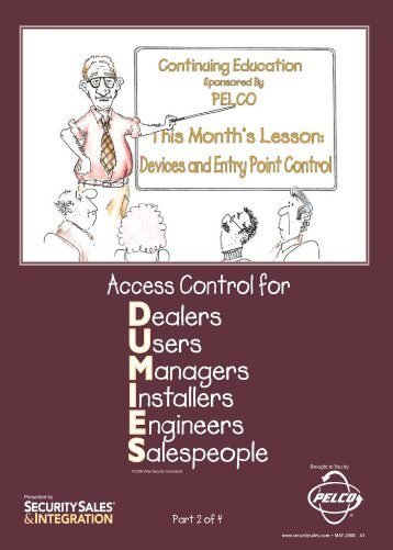 Access Control for Part 2 of 4 - Security Sales & Integration Magazine