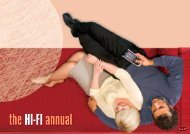 theHI-FI annual - McLeans Smarter Home Entertainment