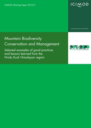 Mountain Biodiversity Conservation and Management - Himalayan ...