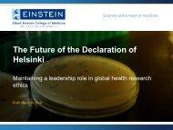 The Future of the Declaration of Helsinki - World Medical Association