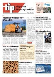 Niedriger Verbrauch = Wenig CO2 - Still GmbH