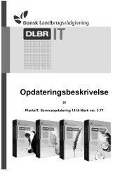 Opdateringsbeskrivelse - DLBR IT