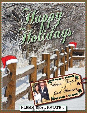 Happy Holidays 2011 - Klemm Real Estate, Inc.