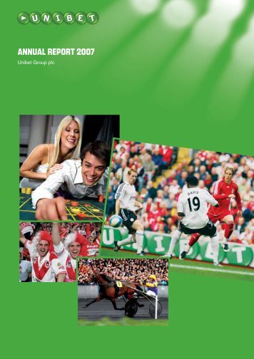Annual Report and Accounts 2007 (pdf-file) - Unibet