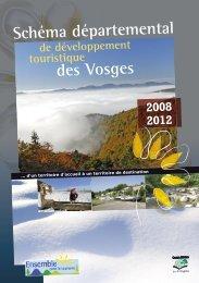 Schéma départemental de développement touristique - Vosges