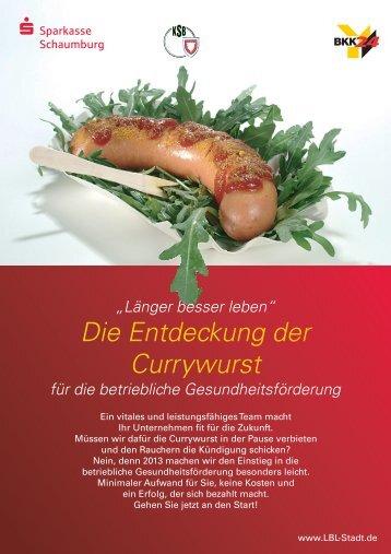 Die Entdeckung der Currywurst - Länger besser leben