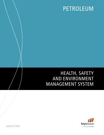 Petroleum HSE Management System - BHP Billiton